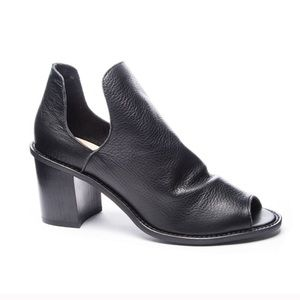 Chinese Laundry Carlita Black Peep Toe Ankle Boot